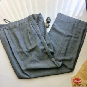 Ellen Tracy Jackets & Coats - Linda Allard for Ellen Tracy Pantsuit Grey Size 12